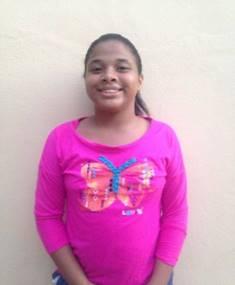 Crismeiry Victoria Ortiz. Edad 12 anos.