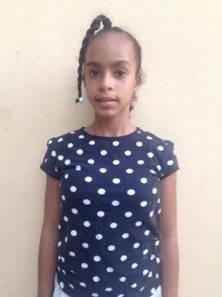 Maria Altagracia Santiago. Edad 11 anos.